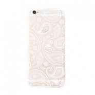 Funda de móvil Trendy para iPhone 6 Plus paisley transparente-blanco